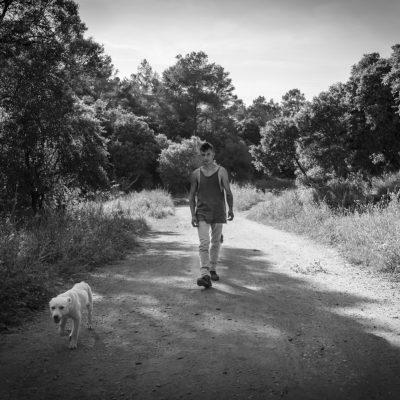 16 de mayo - Paseando el perro
