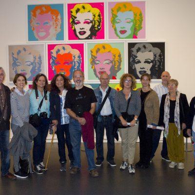 23 de Octubre - Visita expo Warholl-1