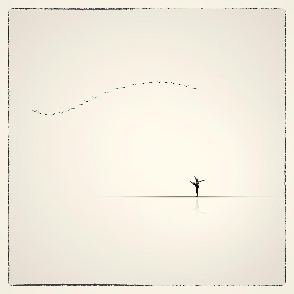 Bailarina minimalista