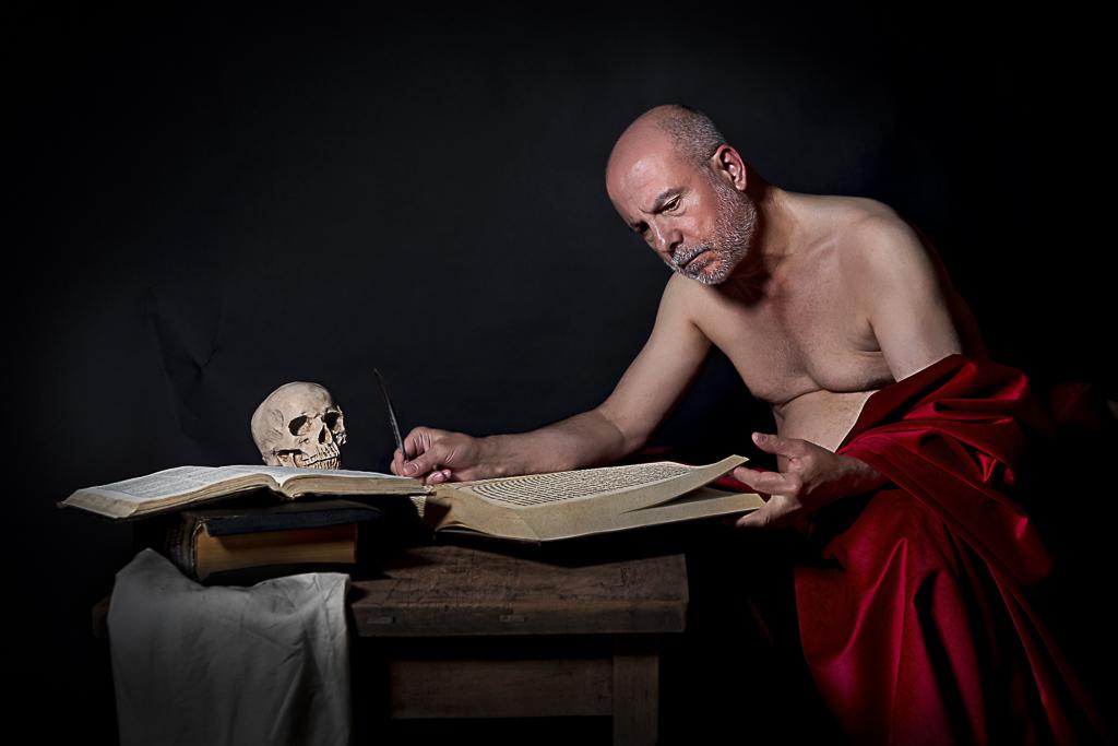 San Jeronimo escribiendo 2