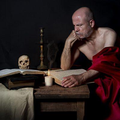 San Jeronimo escribiendo 3
