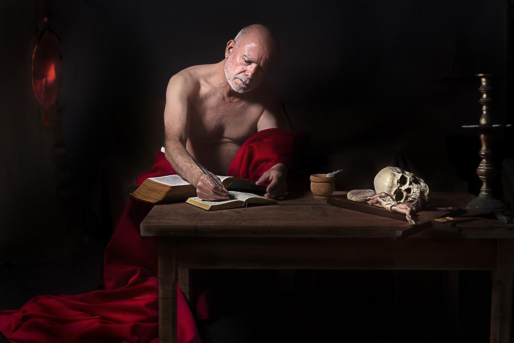 San Jeronimo escribiendo 1