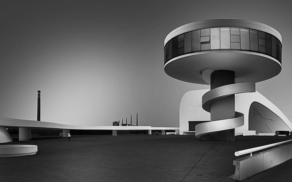 Centro Cultural Internacional Oscar Niemeyer, Avilés, Asturias
