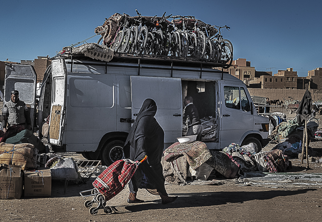Mercado de Rissani, Marruecos