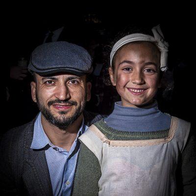 Padre e hija, Carnestoltes Sant Just 2020