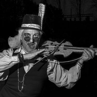 Violinista, Carnestoltes Sant Just 2020